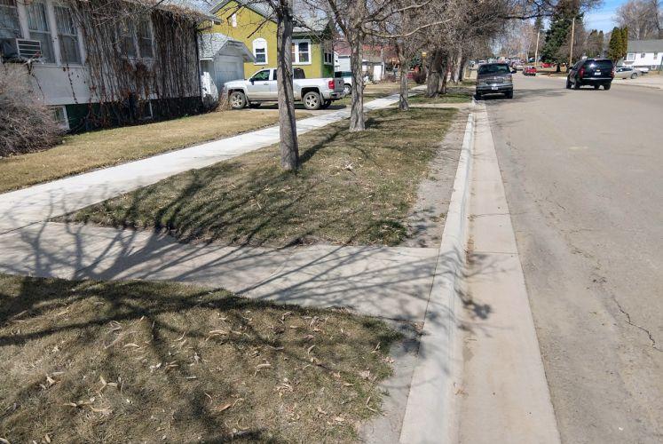 Glendive Sidewalk, Curb, & Gutter Improvements